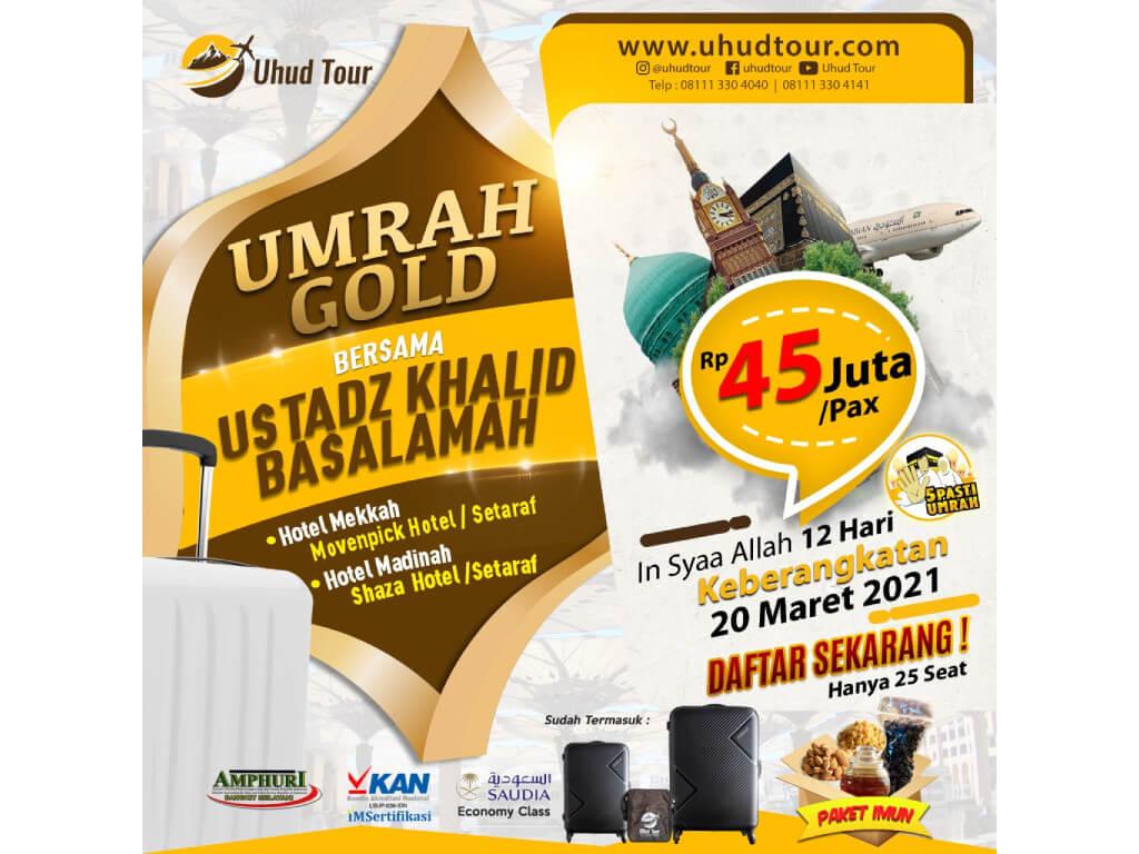 Umrah Maret 2021 Bersama Ustadz Khalid Basalamah